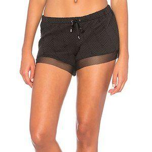Lukka Lux   black mesh shorts